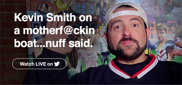Kevin Smith on a motherf@ckin boat... nuff said.