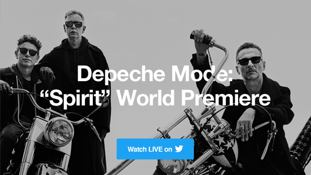 Depeche Mode: ''Spirit'' World Premiere